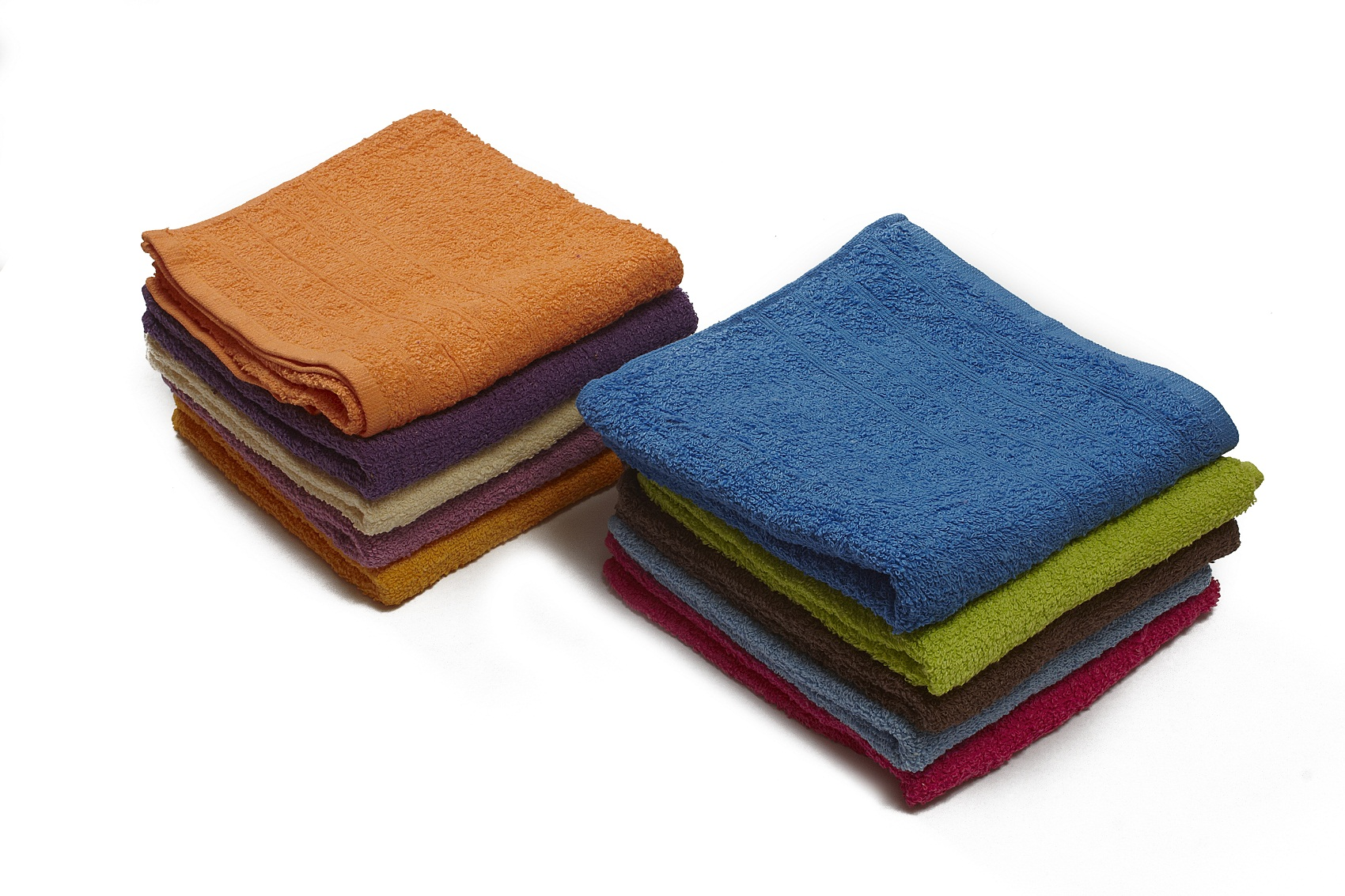 2 Toalla Basic Colores