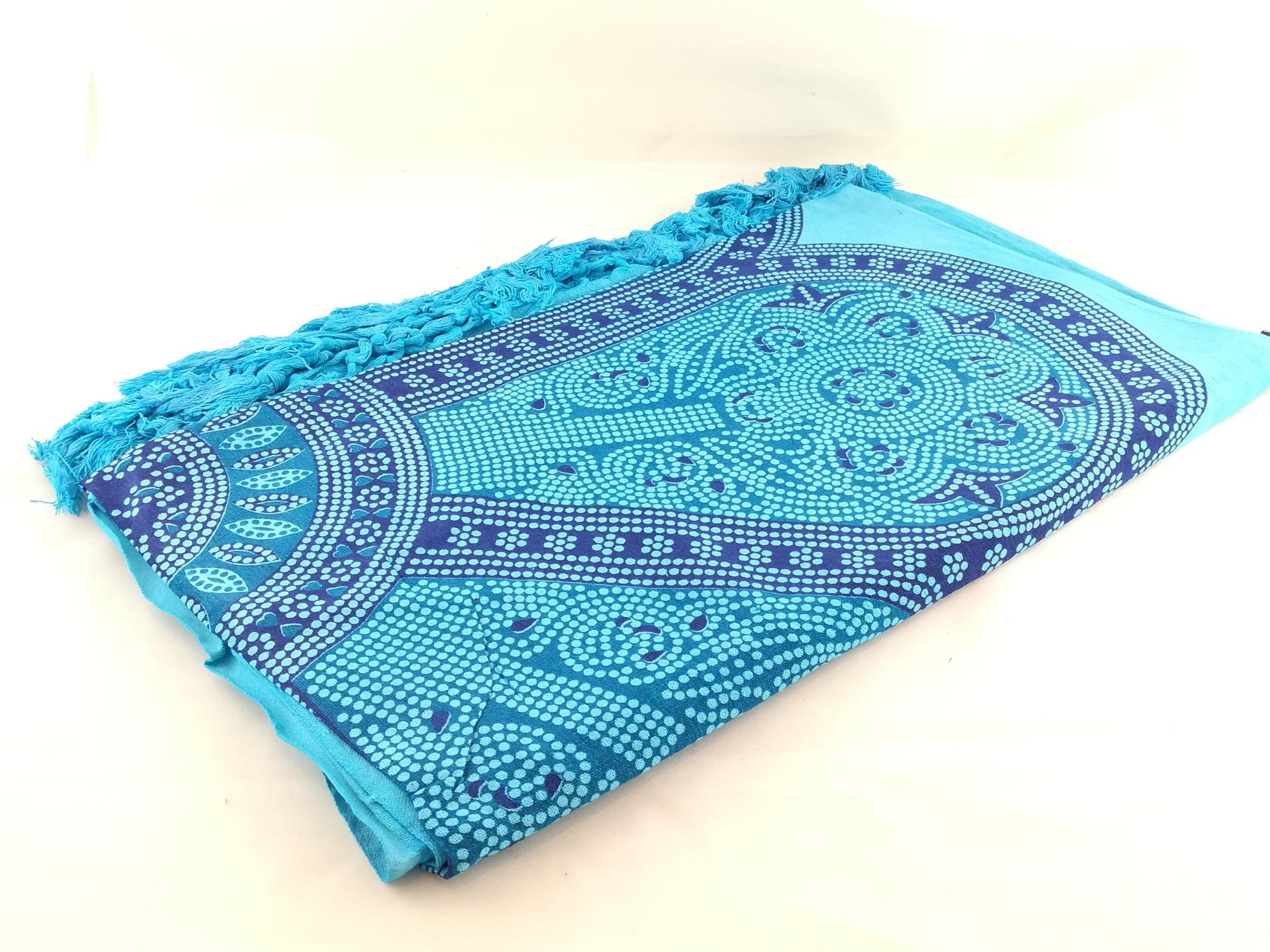 Pareo Foulrd Azul