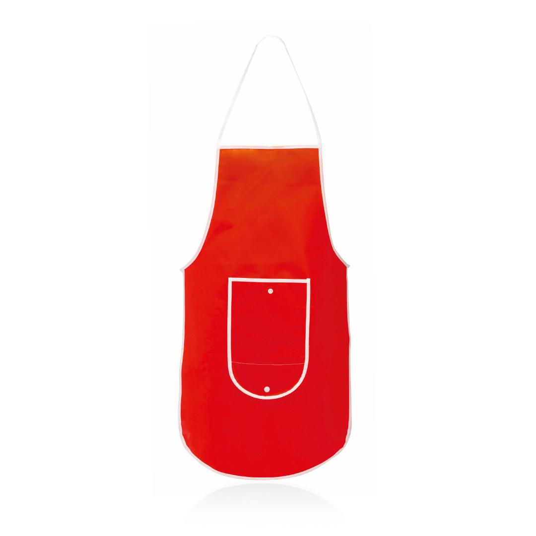 Delantal Plegable Sopex Rojo