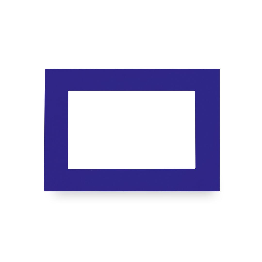 Portafotos Magneto Azul
