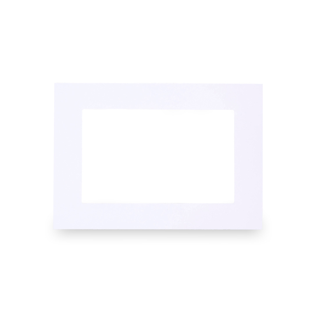 Portafotos Magneto Blanco