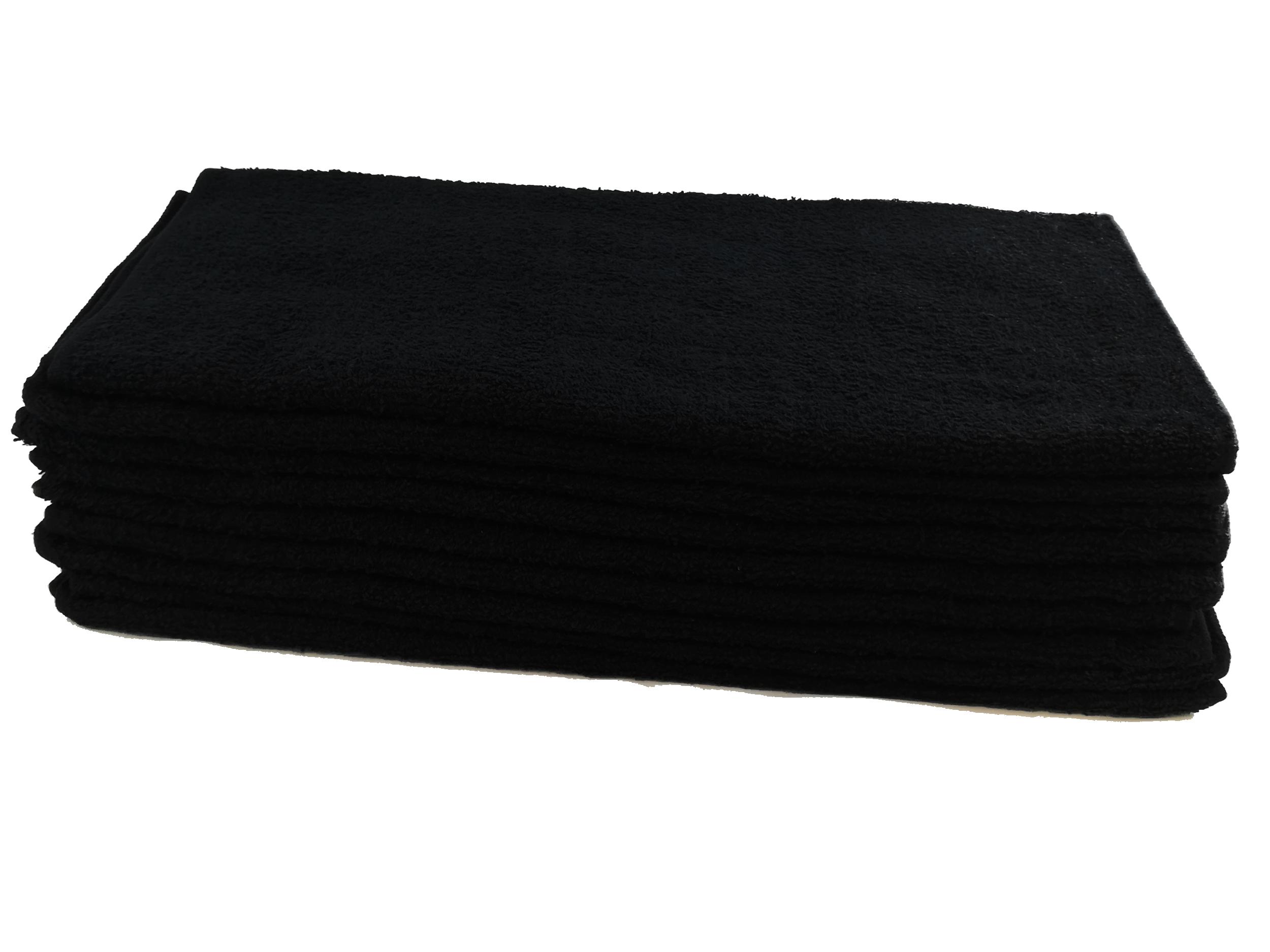 Toalla Negra Algodón